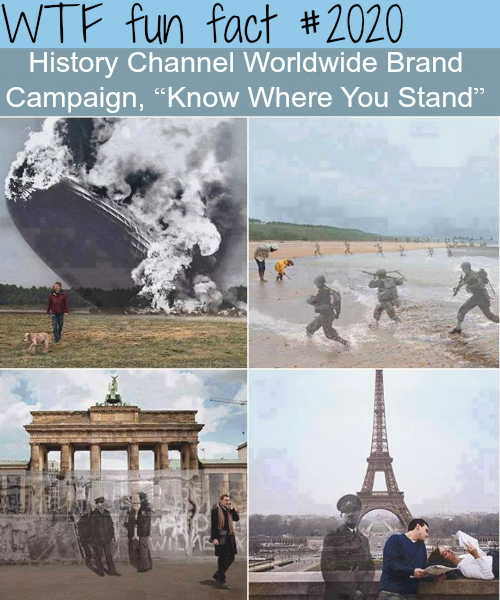 "History Channel ""Know where you stand"" - WTF fun facts"