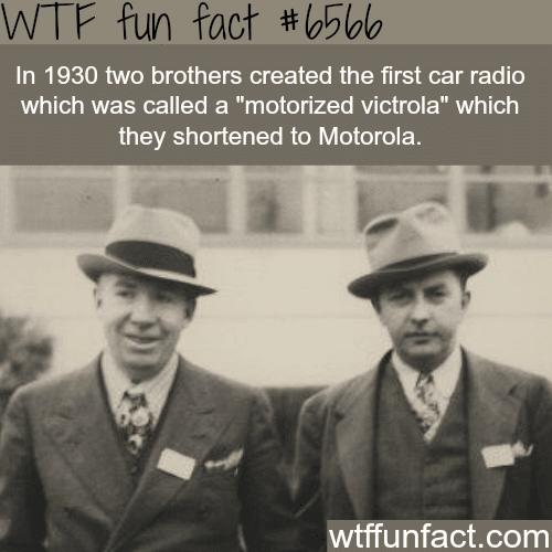 History of Motorola - WTF fun facts