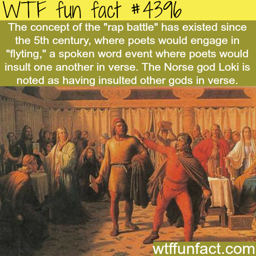History of the rap battles -   WTF fun facts