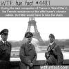 hitler in paris wtf fun facts