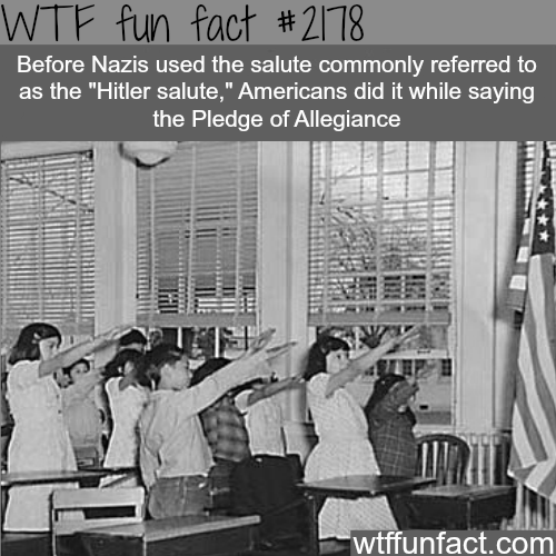 Hitler Salute - WTF fun facts