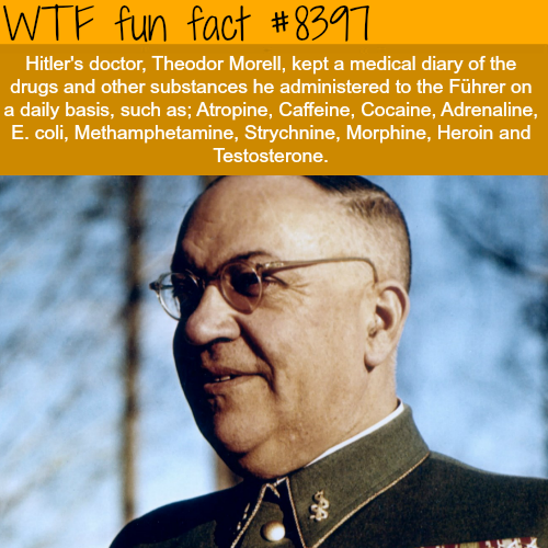 Hitler's doctor - WTF fun facts