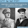 hitlers nephew fought against him in ww2 wtf