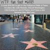 hollywood walk of fame wtf fun facts