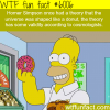 homer simpsons theory about the shape of the