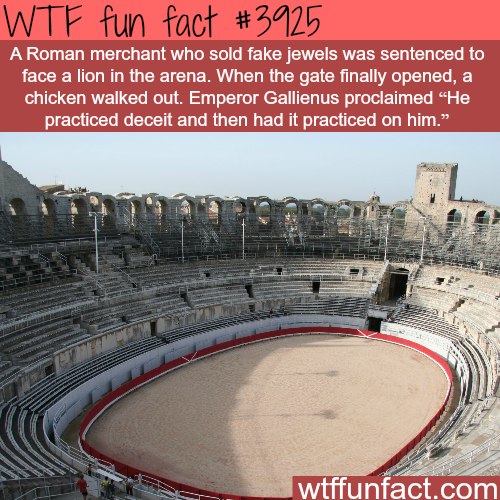 How a fake jewels merchant was sentenced - WTF fun facts