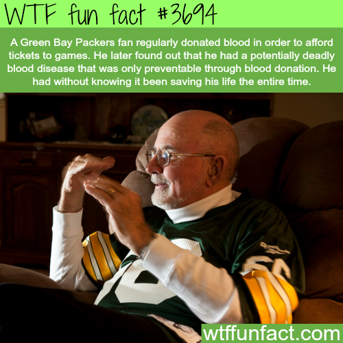 How a football fan was saving his life without knowing - WTF fun facts