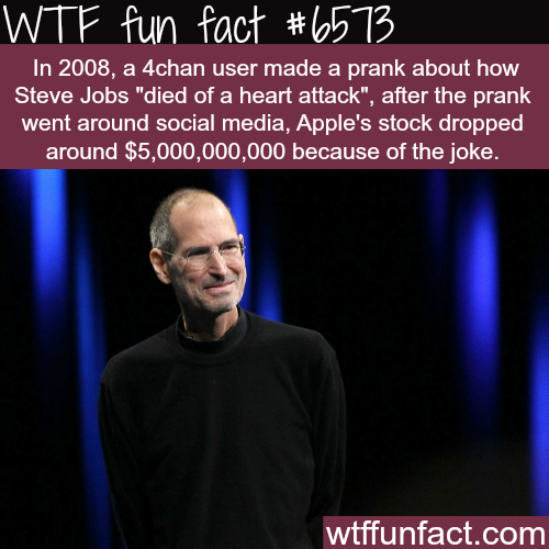 How a prank can cost 5 billion dollar - WTF fun facts