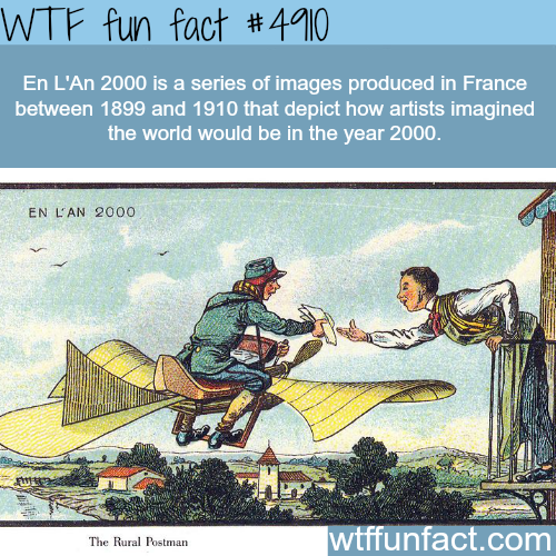 How artists in the 19th century imagined the year 2000 - WTF fun facts