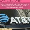 how big is att wtf fun fact