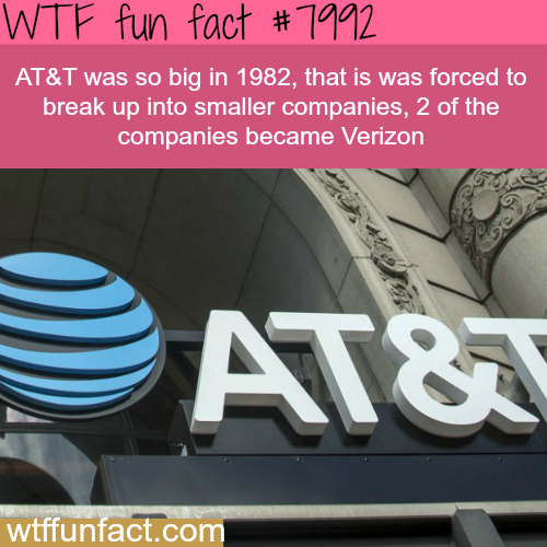 How big is AT&T - WTF fun fact
