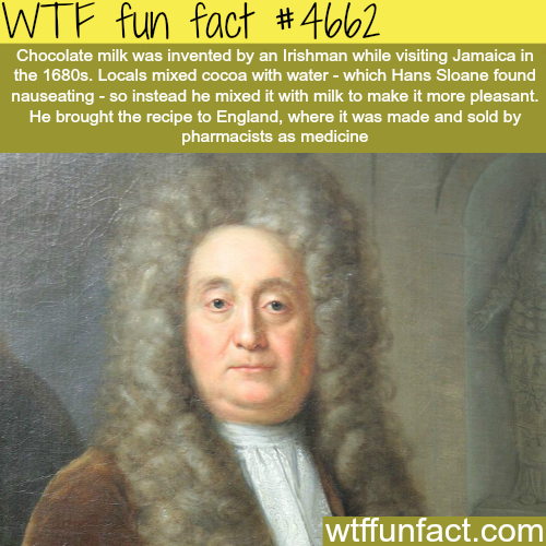 How chocolate milk was invented - WTF fun facts
