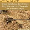 how far can a sniper bullet travel