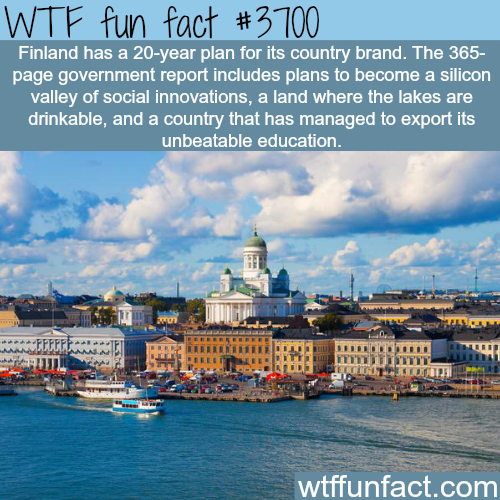 How Finland wants to brand it's self -  WTF fun facts