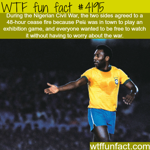 How football stopped a civil war in Nigeria -  WTF fun facts