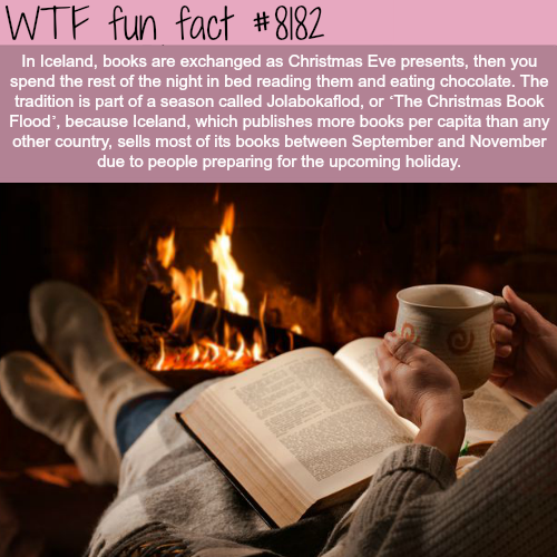 How Icelandic people celebrate Christmas eve - WTF fun fact