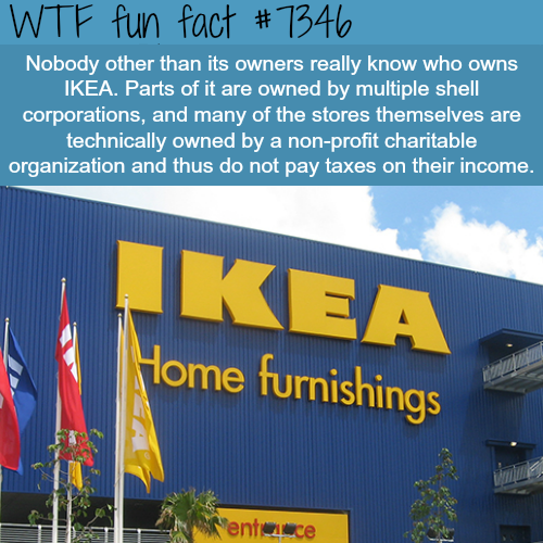 How IKEA avoids paying taxes- WTF fun facts