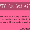 how long is a moment