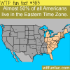 how many americans lie in the eastern time zone
