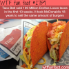 how many doritos locos tacos did taco bell sell