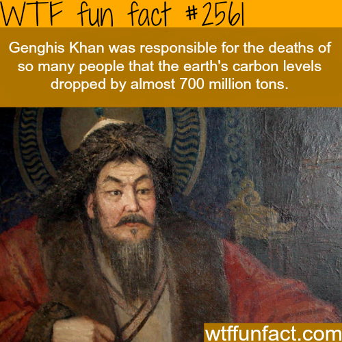 How many people did Genghis Khan kill? -WTF funfacts