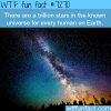 how many stars in the universe wtf fun fact