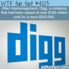 how much digg was sold for