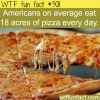 how much pizza do americans eat each day