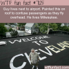 how one man pranks people who fly to his city
