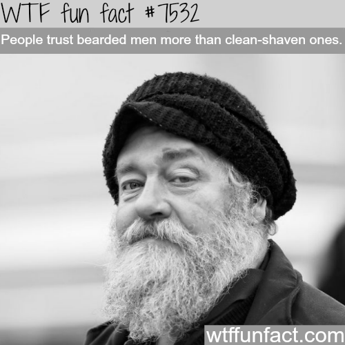 How people perceive beards - WTF fun facts