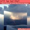 how rain looks like from an airplane wtf fun