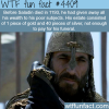 how rich was saladin wtf fun facts