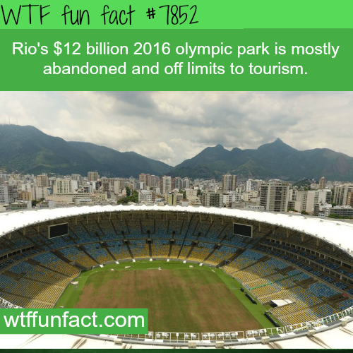 How Rio's Olympic park look now - WTF fun facts