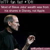 how steve jobs made his wealth wtf fun facts