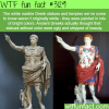how the greek statues actually looked
