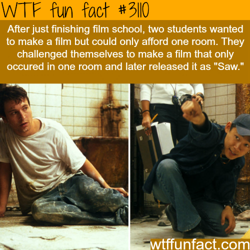 """How the movie """"Saw"""" was created -WTF fun facts"""