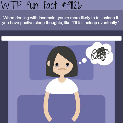 How to deal with insomnia - WTF fun fact