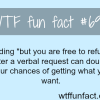 how to get what you want wtf fun fact