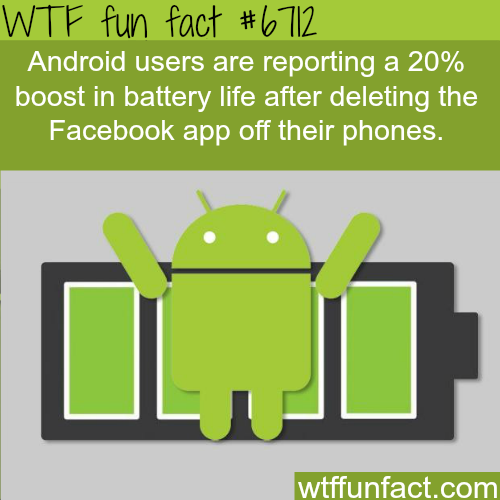 How to increase your battery life - WTF fun fact
