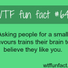 how to make people like you wtf fun facts