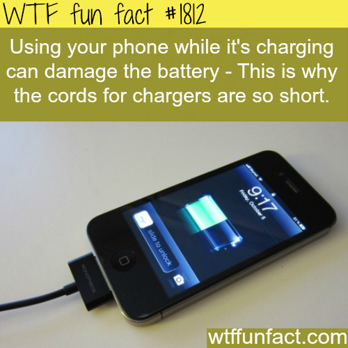 How to make your Phone Battery last longer - WTF fun facts