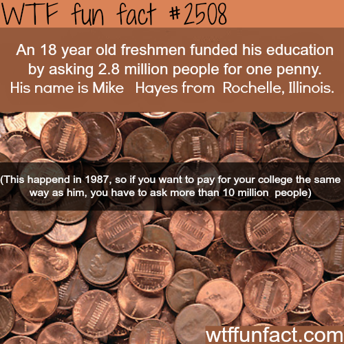 How to pay for your college education - WTF fun facts
