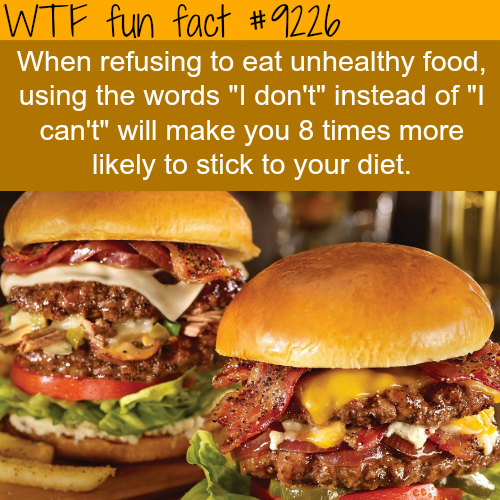 How to stick to a diet - WTF Fun Fact