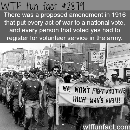 How to stop war -WTF fun facts