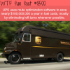 how ups save 100 million in fuel cost wtf fun