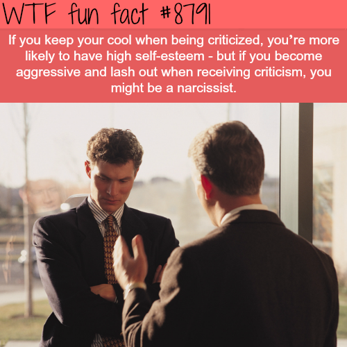 How you handle criticismcan say a lot about your personality - WTF fun facts