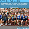 humans can out run all animals wtf fun facts