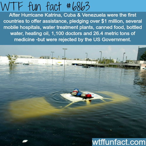 Hurricane Katrina - WTF fun fact
