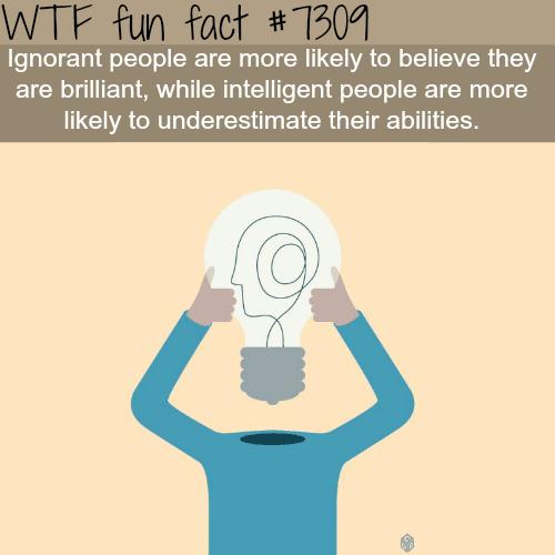 Ignorant people - WTF fun fact
