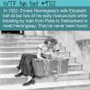 in 1922 ernest hemingways wife elizabeth lost